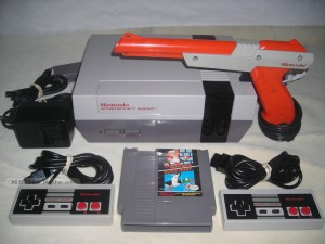 Nintendo Home Entertainment System With Xuck Hunt