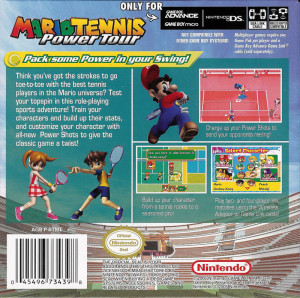Mario Tennis Power Tour Stats Guide